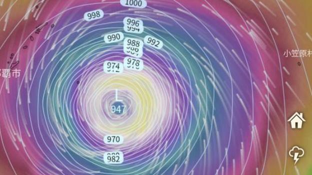 台風 19 号 2019